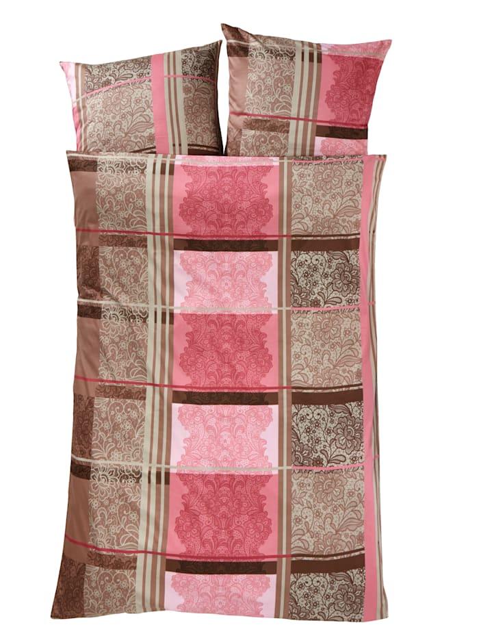 Webschatz Sengesett, rosa