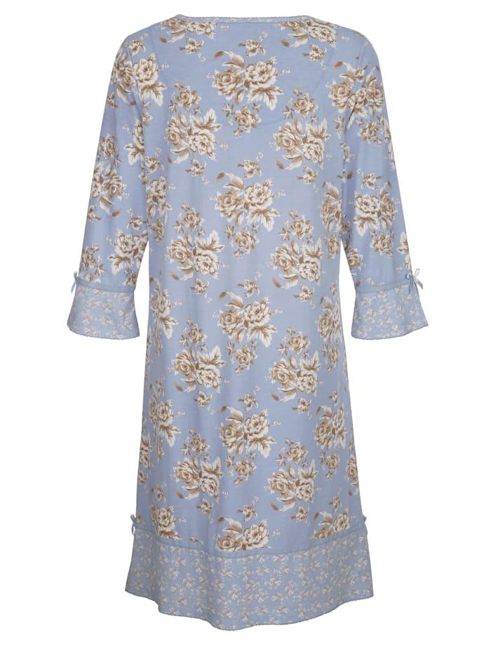 Nachthemd im floralen Mustermix