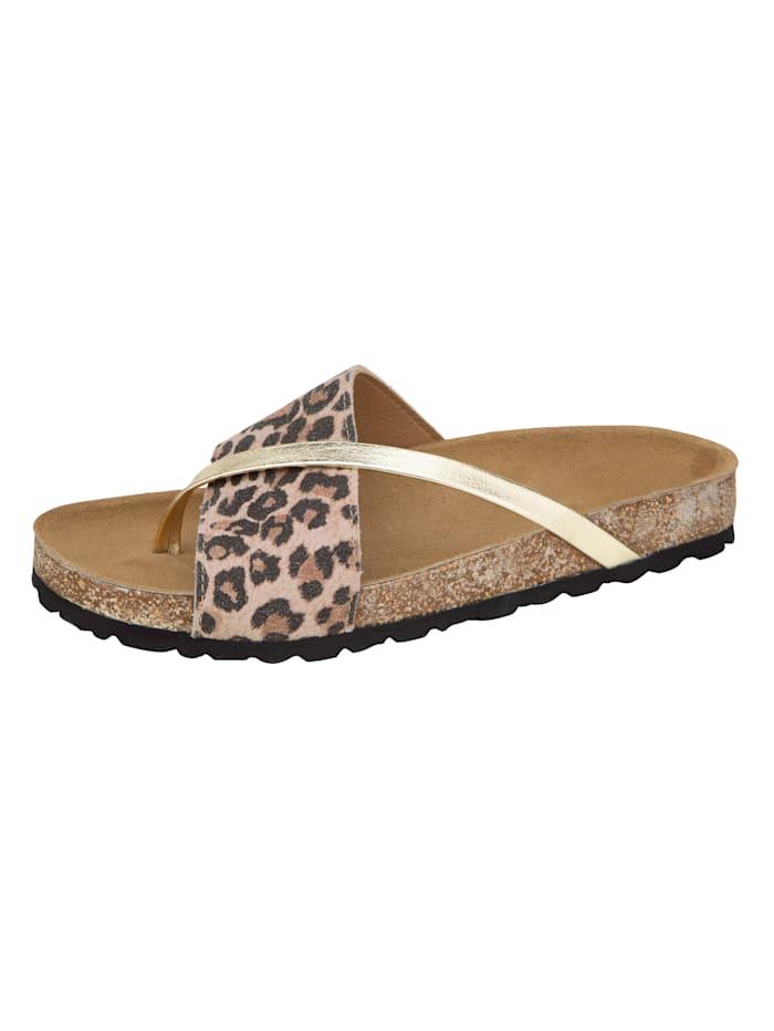 Bio nazouvací obuv ve zvířecím vzhledu, Hnědá