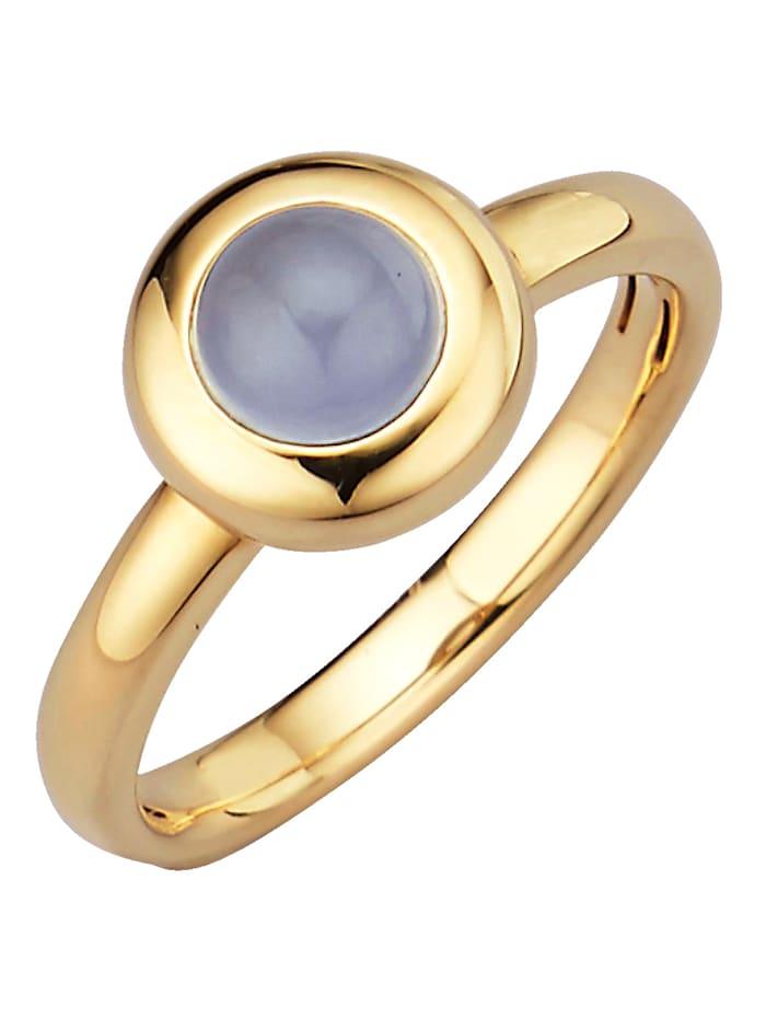 Diemer Highlights Sternzeichen-Ring Schütze, Blau