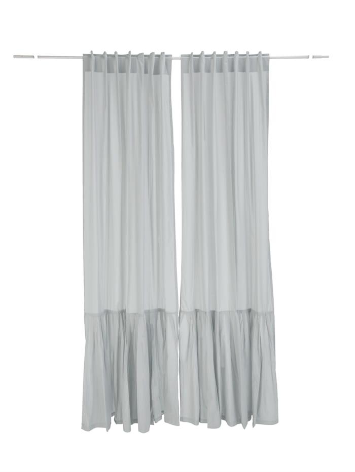 IMPRESSIONEN living Vorhang-Set, 2-tlg., grau