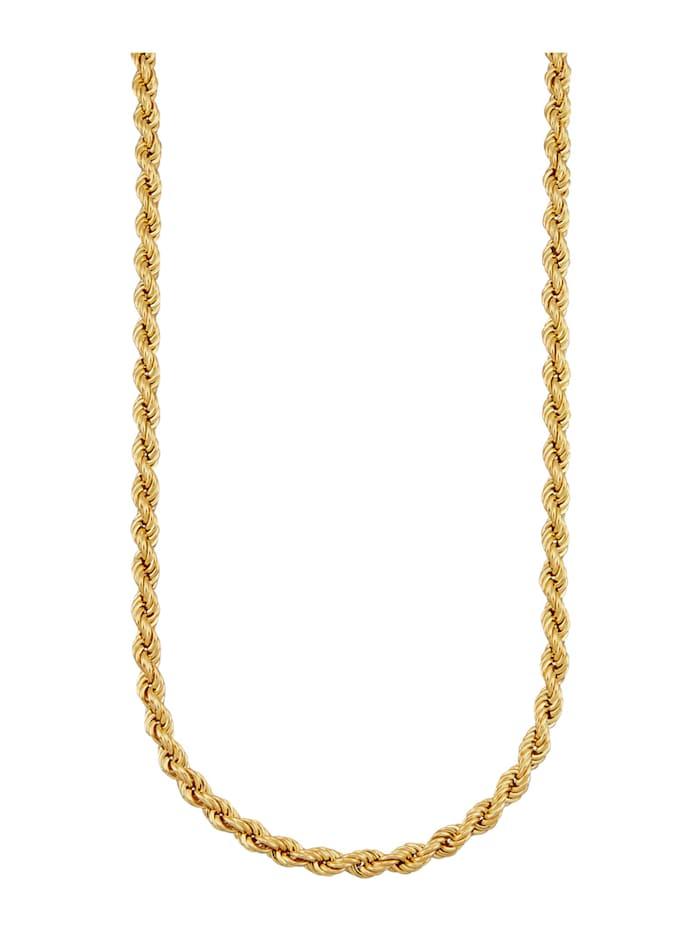 Amara Gold Kordelkette in Gelbgold 585, Gelbgoldfarben