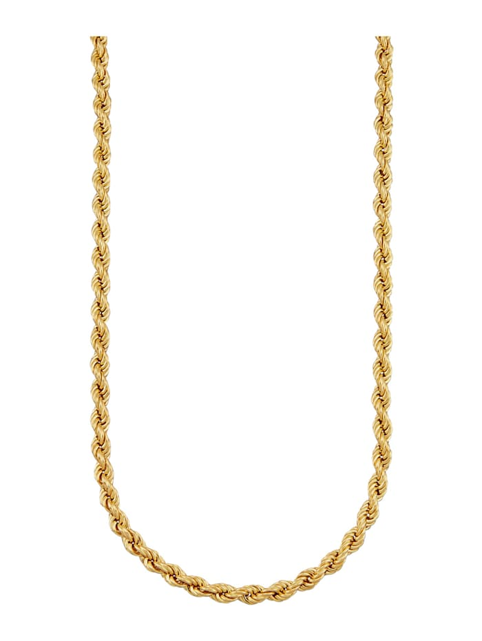 Diemer Gold Kordelkette in Gelbgold 585, Gelbgoldfarben