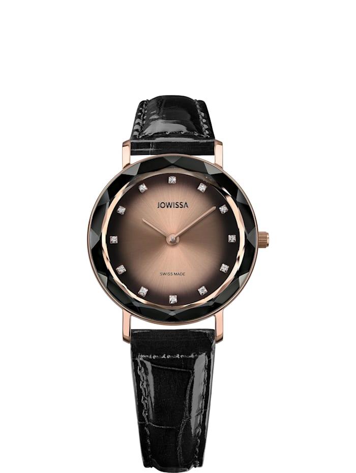 Jowissa Quarzuhr Aura Swiss Ladies Watch, rosa