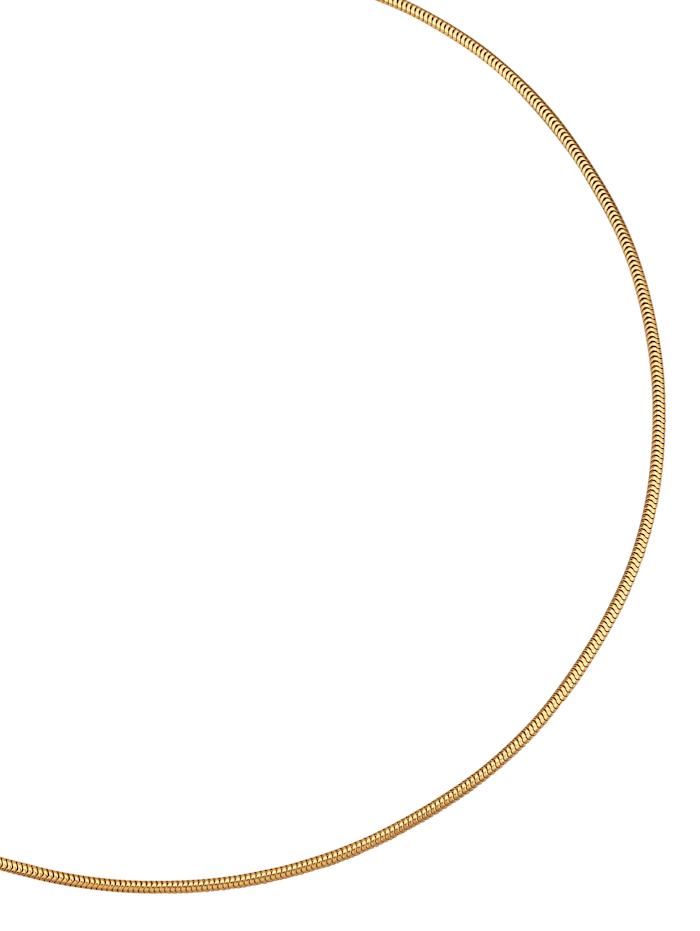 Diemer Gold Schlangenkette in Gold 585, Gelb