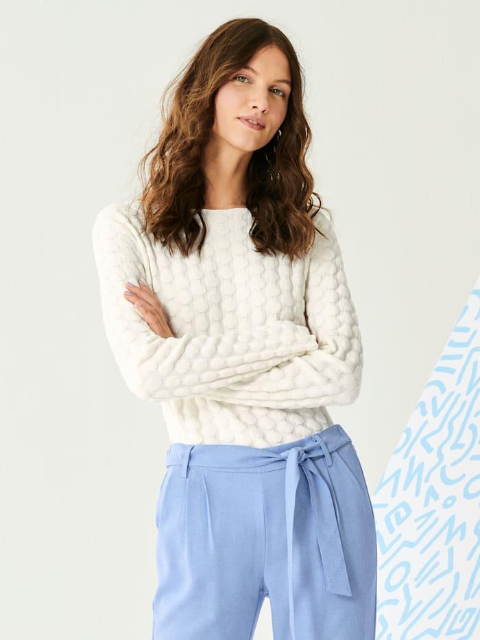 REKEN MAAR Pullover, Off-white