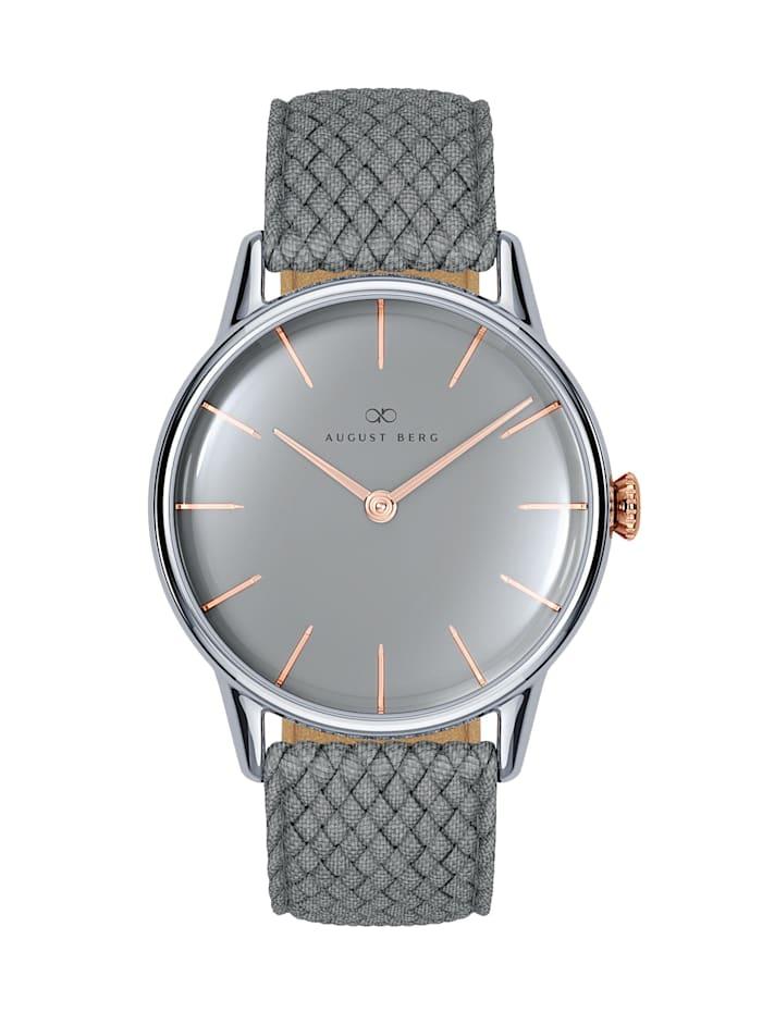 August Berg Uhr Serenity Nordic Granite Grey Perlon 32mm, cool grey