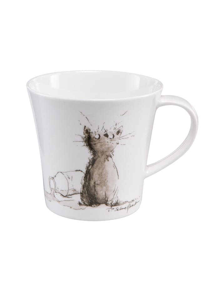 "Goebel Goebel Coffee-/Tea Mug Peter Schnellhardt - ""Milchstraße"", Milchstraße"