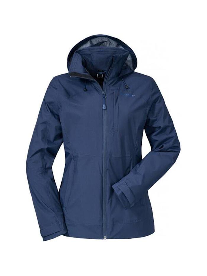 Schöffel Schöffel Jacke ZipIn! Jacket Alyeska2, Blau