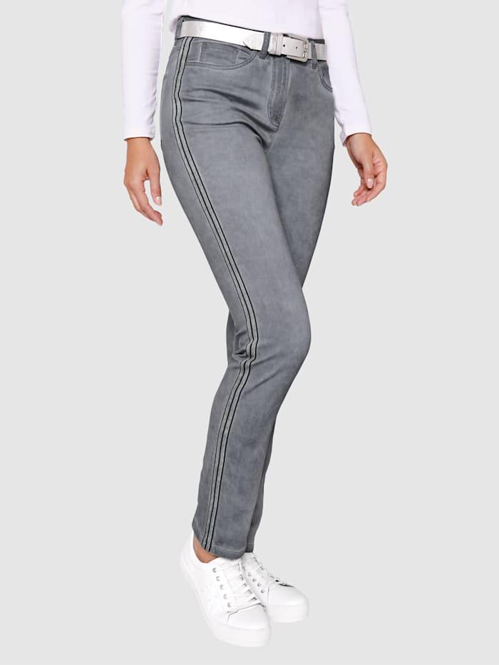 Dress In Pantalon de coupe Paola Slim, Gris