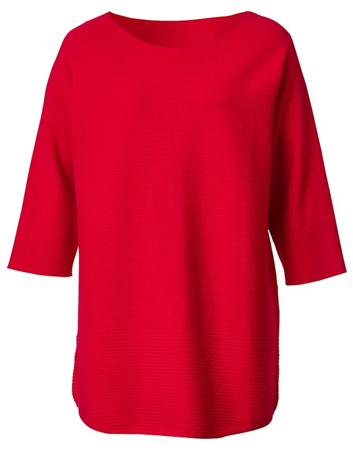 Pullover aus weichem Strickmaterial