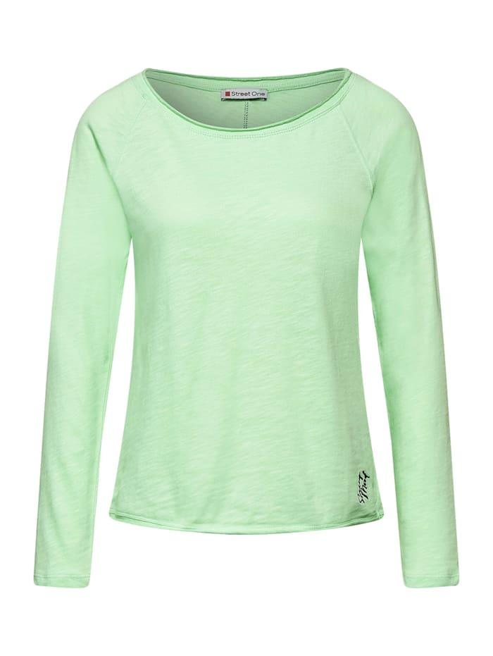 Street One Lässiges Raglan-Shirt, frosted pistachio
