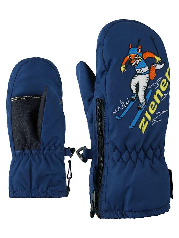 Ziener LE ZOO MINIS glove, Estate blue/white