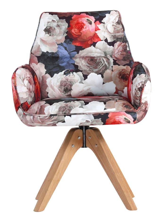 TopHome Drehstuhl, mehrfarbig/floral