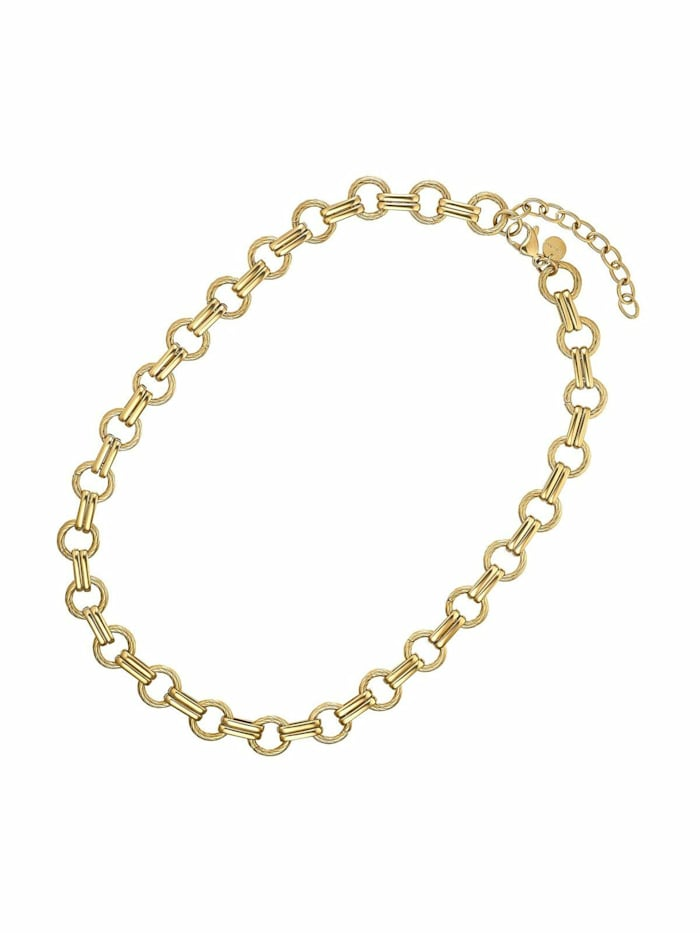 Noelani Kette für Damen, Stainless Steel IP Gold, Gold