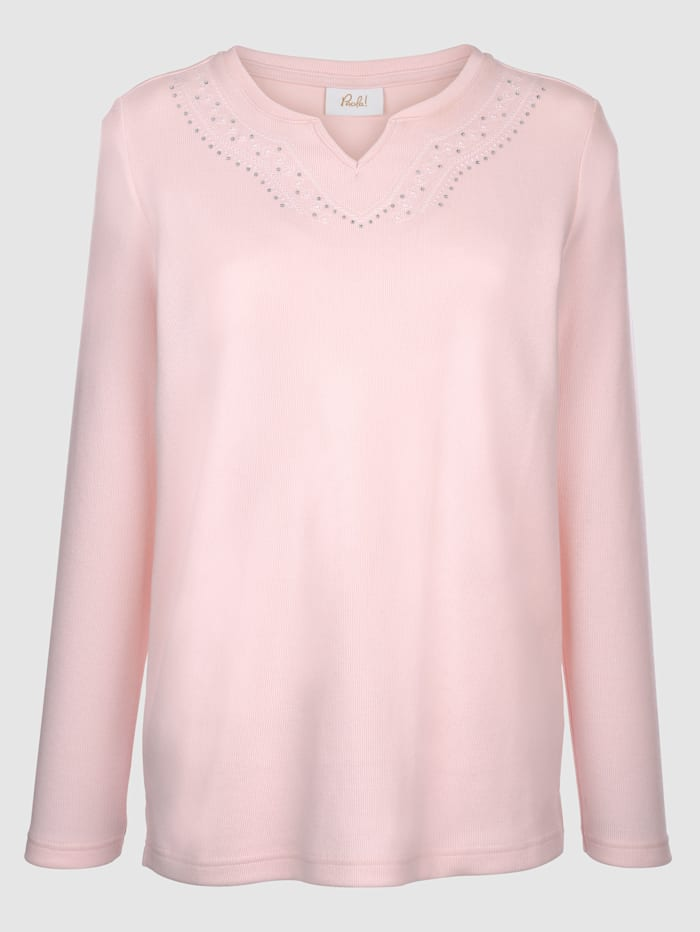 Sweatshirt met mooi borduursel