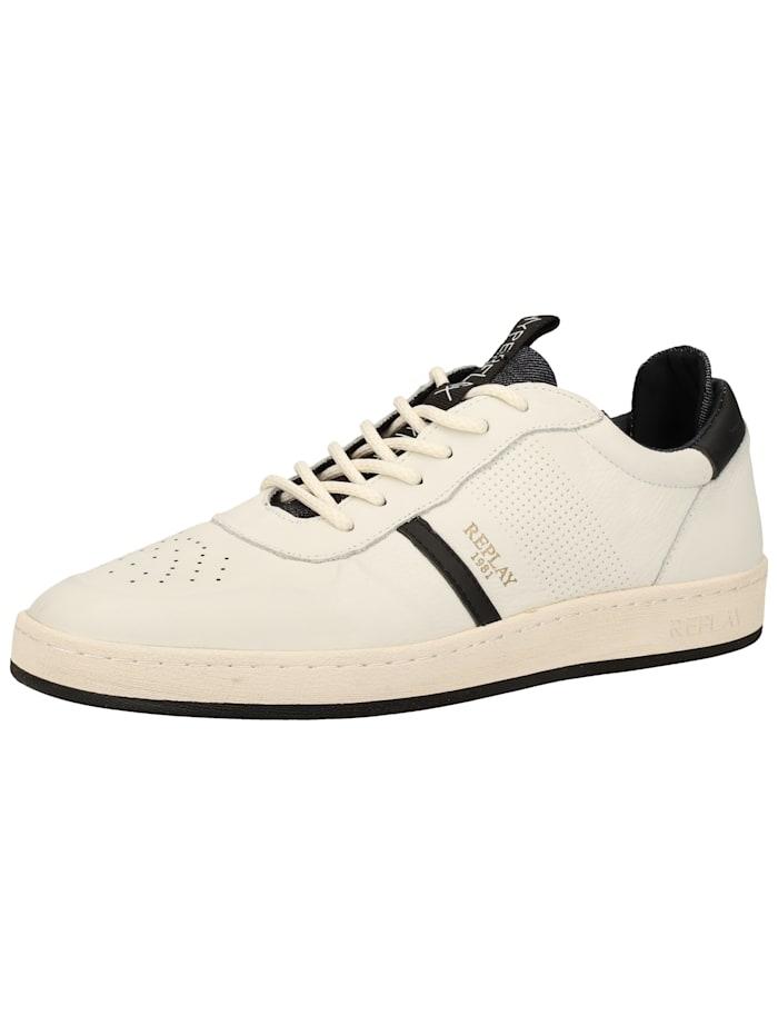 REPLAY REPLAY Sneaker, Weiß/Schwarz