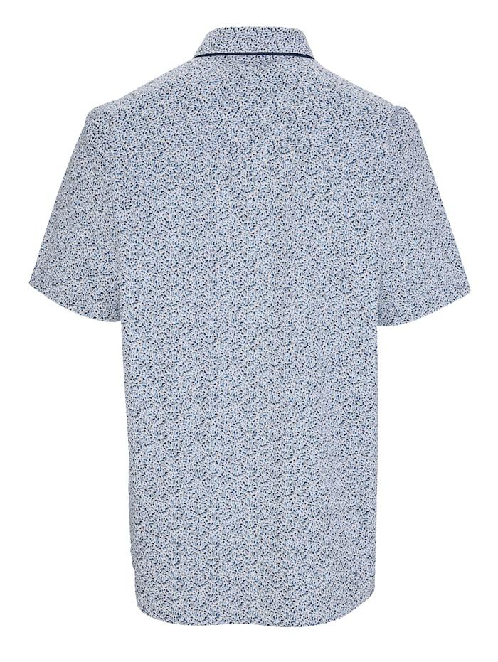 Overhemd met dubbele kraag