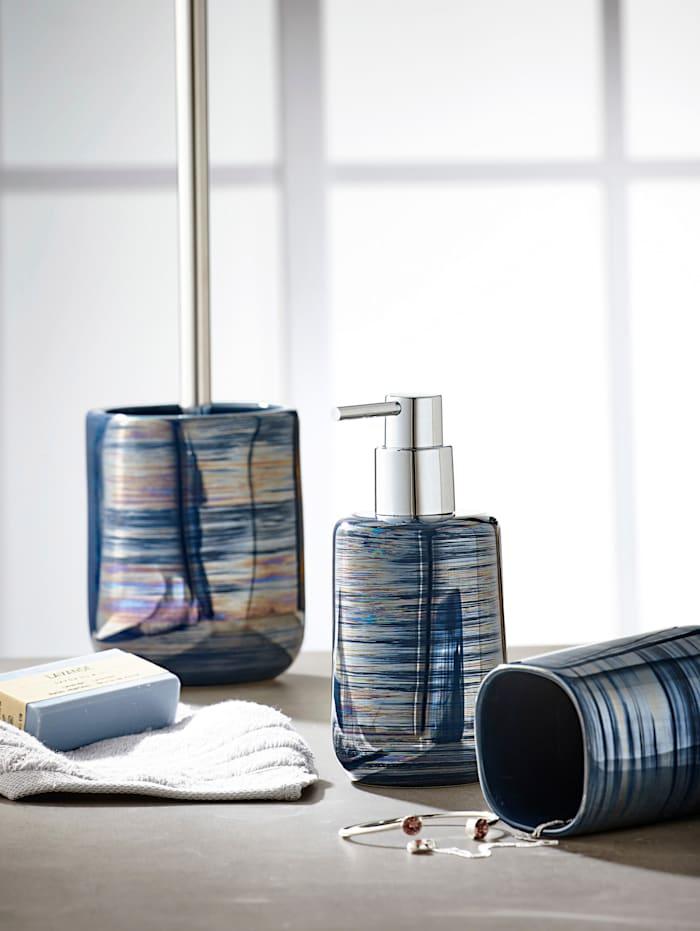 Kleine Wolke WC-borsthållare – Argentic, Blå