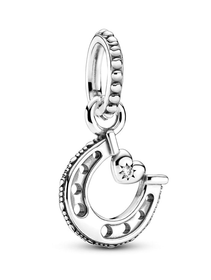 Pandora Charm-Anhänger -Viel Glück Hufeisen- 799157C01, Silberfarben