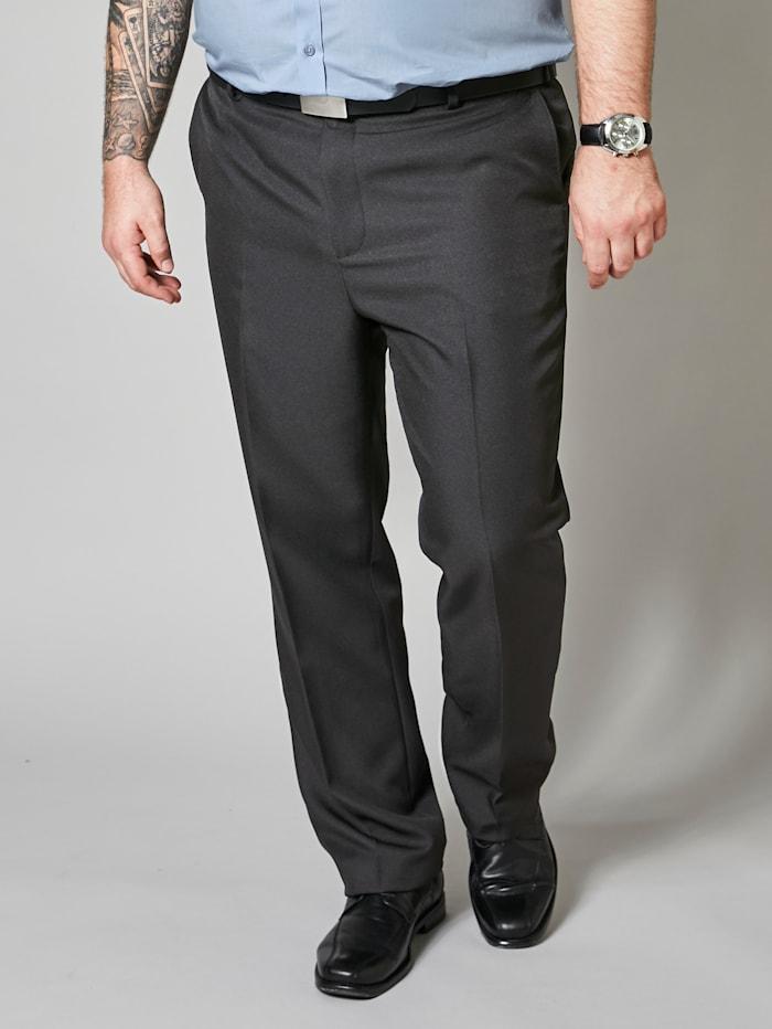Men Plus Hosen, Schwarz/Grau