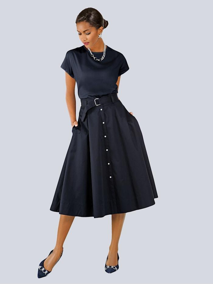 Kjol med skärp