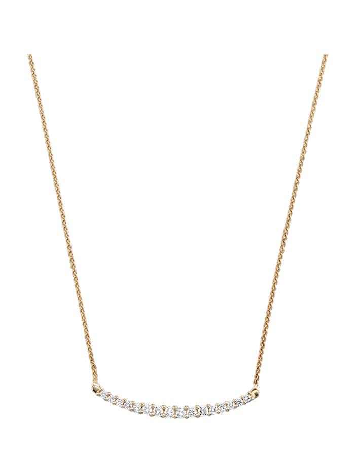 Amara Diamant Collier mit Brillanten, Weiß