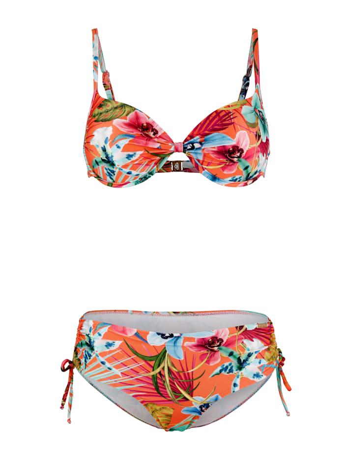 Fürstenberg Bikini met een pareo als jubileumgeschenk, Oranje