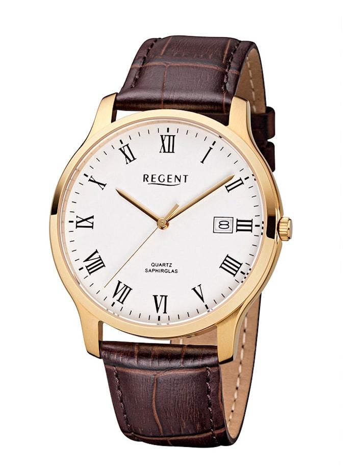 Regent Herrenuhr 11100234, Braun