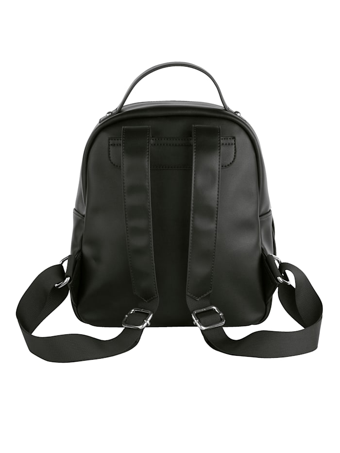 Rucksack in edlem Metallic-Look