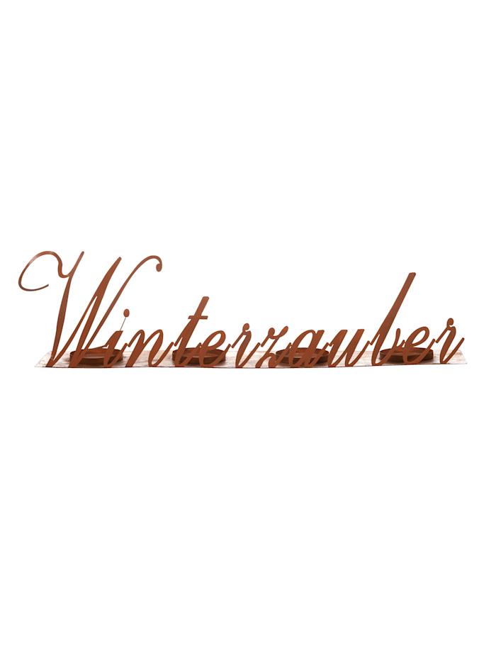 IMPRESSIONEN living Kerzenhalter, rost