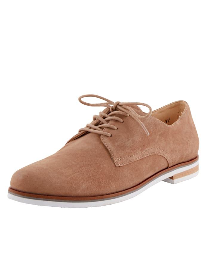MONA Šněrovací boty v klasickém vzhledu, Bahenní