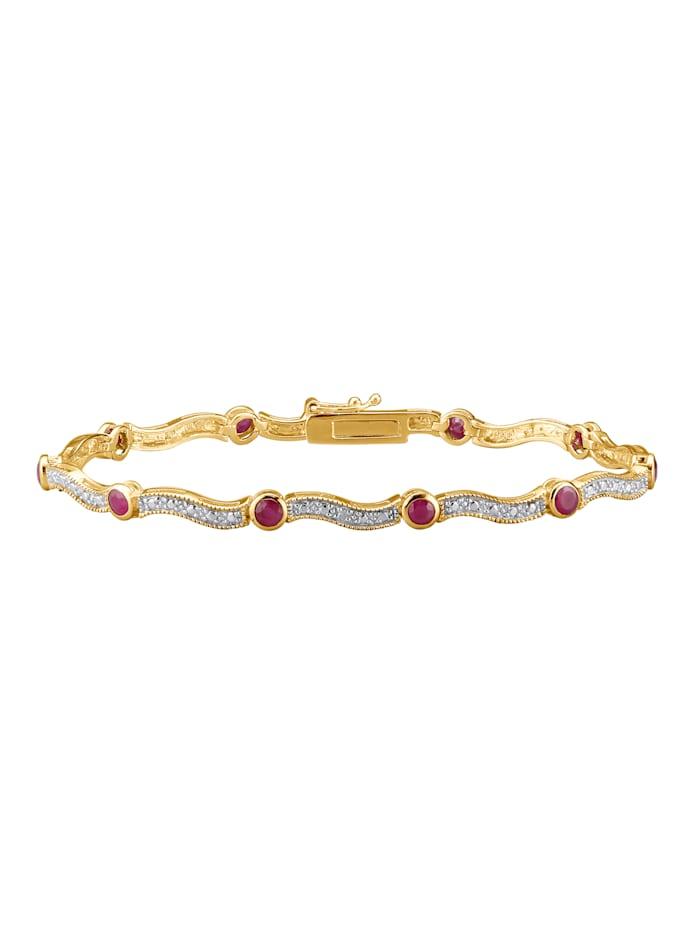 Armband, Rood