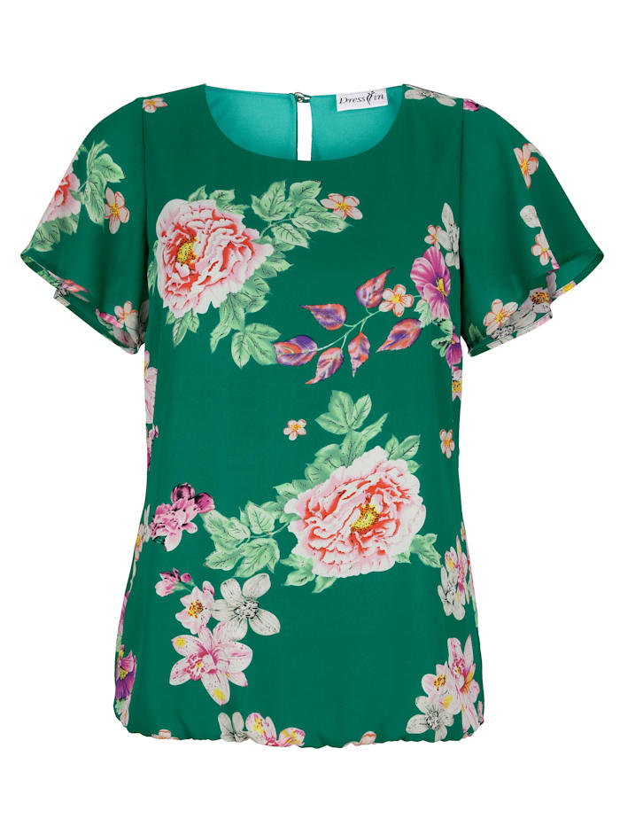 Blouse All-over floral print