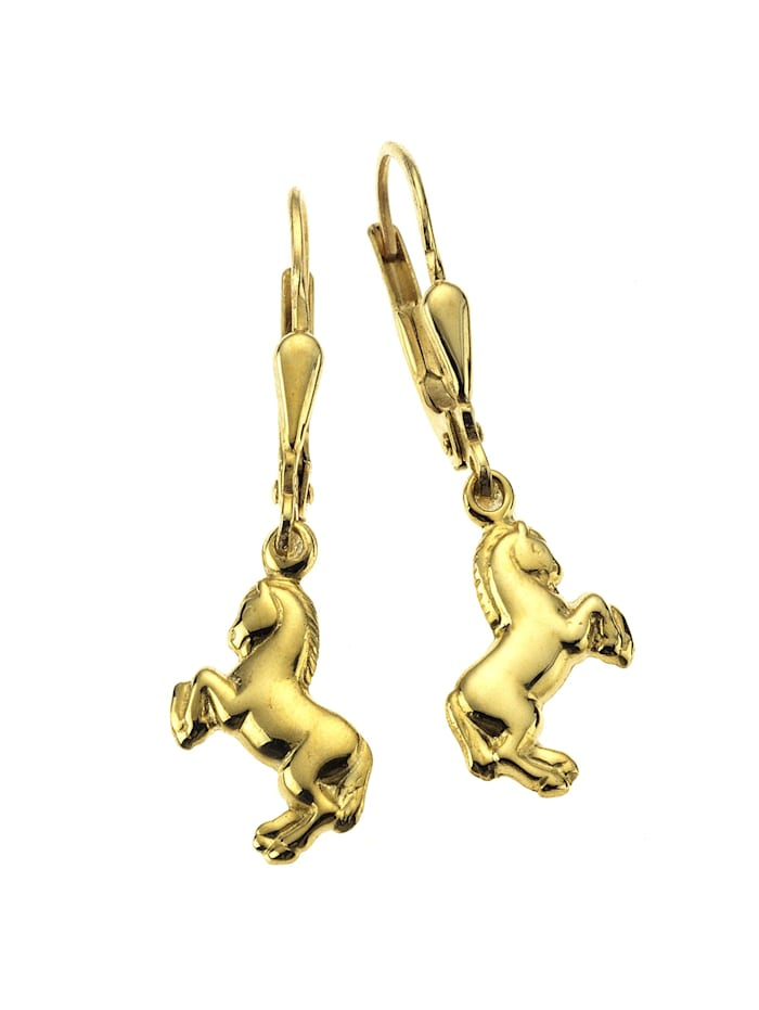 ZEEme Ohrhänger 333/- Gold 2,6cm Glänzend 333/- Gold, gelb