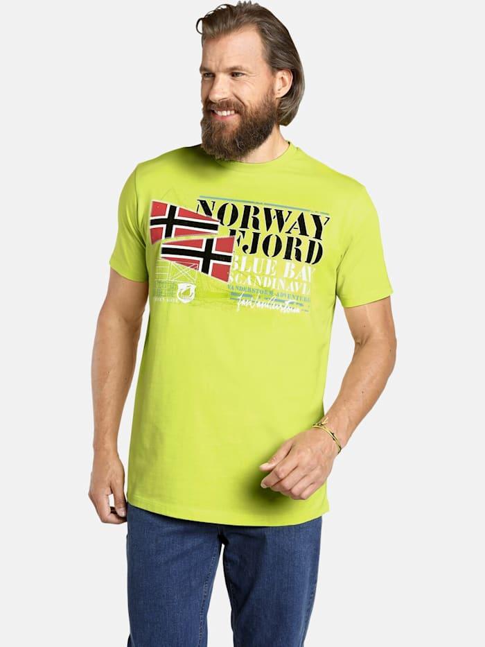 Jan Vanderstorm Jan Vanderstorm T-Shirt SIGVARD, hellgrün