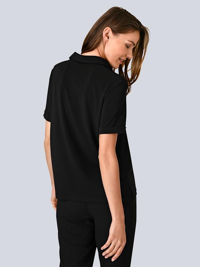 Bluse aus elastischer Viskose Qualität