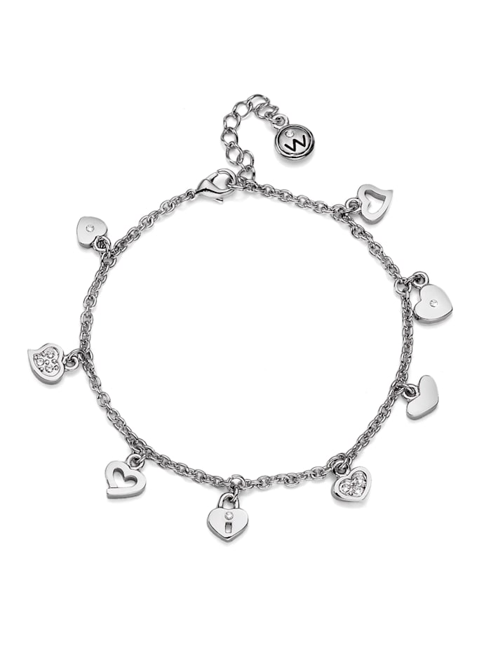 Oliver Weber Armband Hearty, weiss