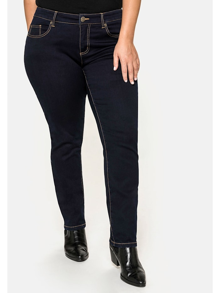 Sheego Sheego Jeans, blue black Denim