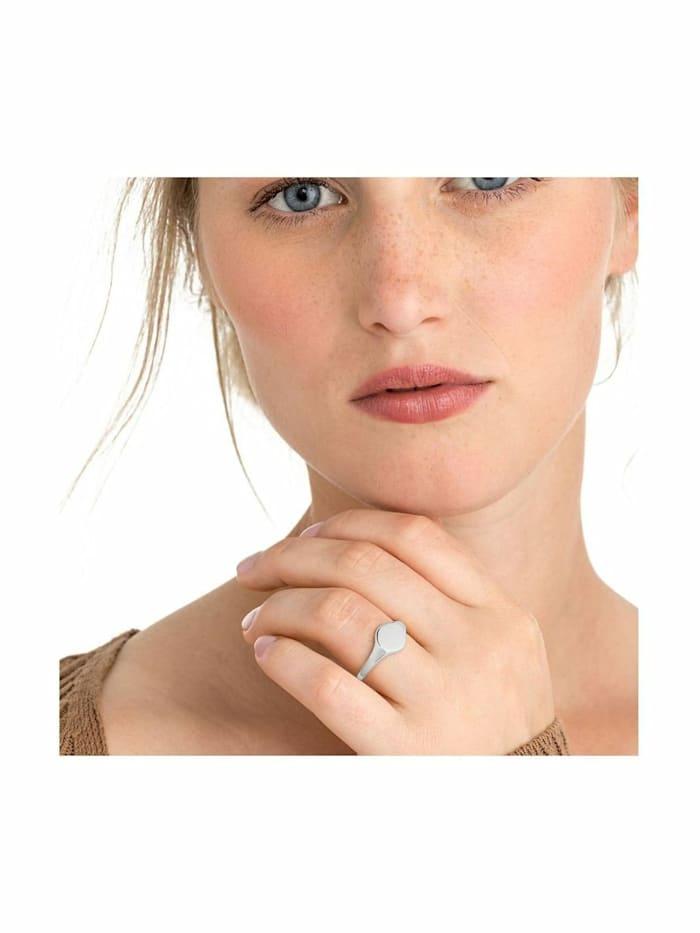 Ring für Damen, Sterling Silber 925, Siegelring