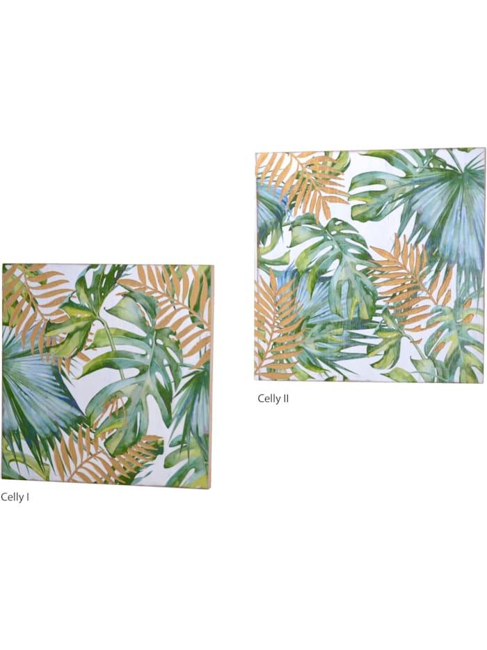 Möbel-Direkt-Online Wanddekoration Celly II, grün