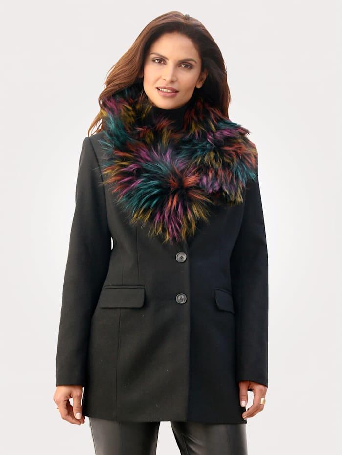 Jas met warme wol