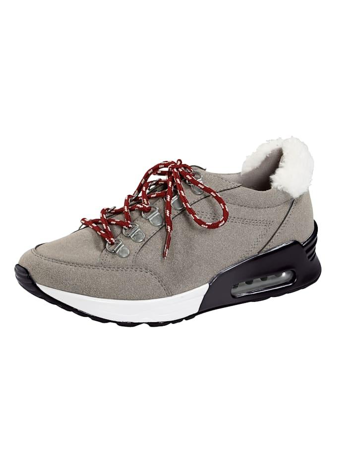 Liva Loop Sneaker in bergschoenlook, Grijs
