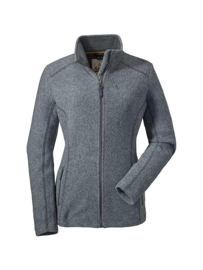 Schöffel Schöffel Jacke Fleece Jacket Tscherms, Grau