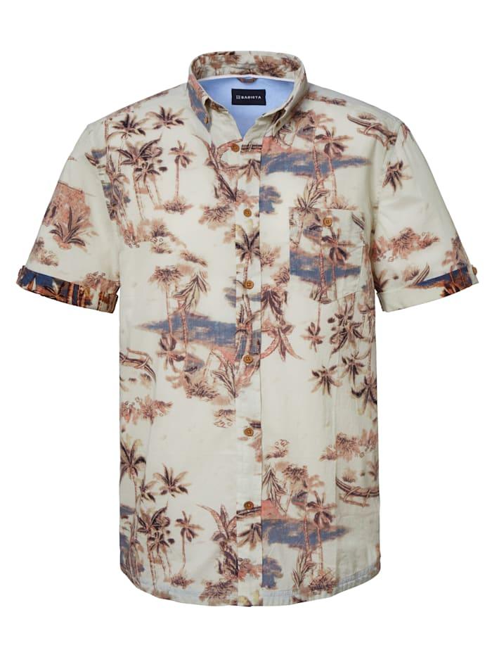BABISTA Overhemd met luxueuze details, Beige