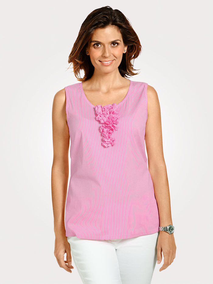SE Stenau Blouse Top, Rosé