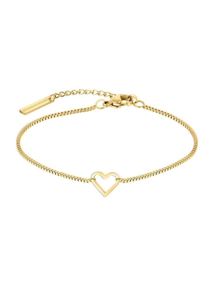 LIEBESKIND Berlin Liebeskind Berlin Damen-Armband Edelstahl, gold