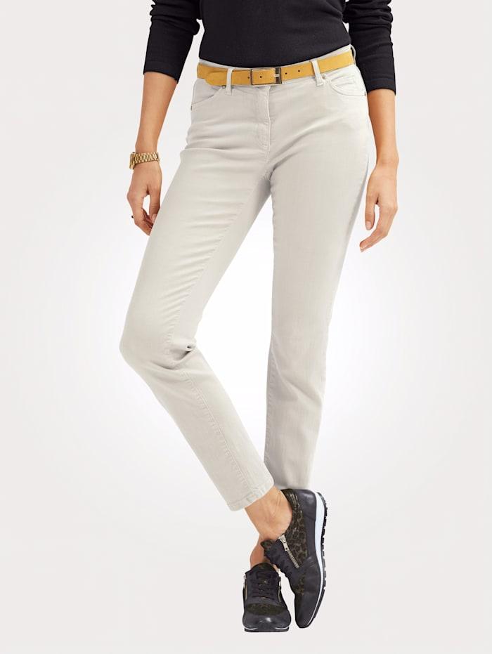 Toni Jeans colored denim, Ecru