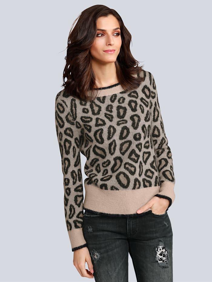 Pullover mit angesagtem Leomuster