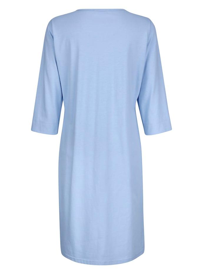 Nachthemd mit schönen Raffungen im Vorderteil